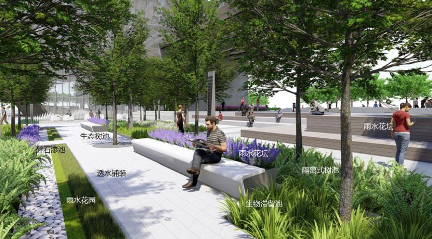 怡境:用景观设计打造海绵城市艺术美室内设计有多苦图片